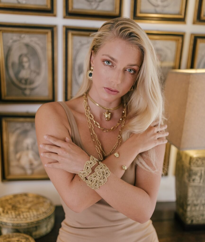 Fashion and jewelery campaign Ines Bahr