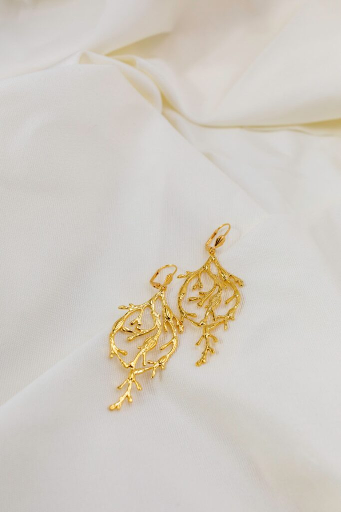 earings product photography