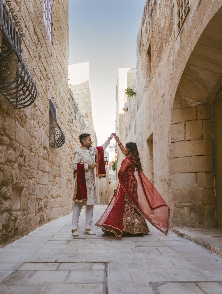 Indian Wedding outfits photoshoot