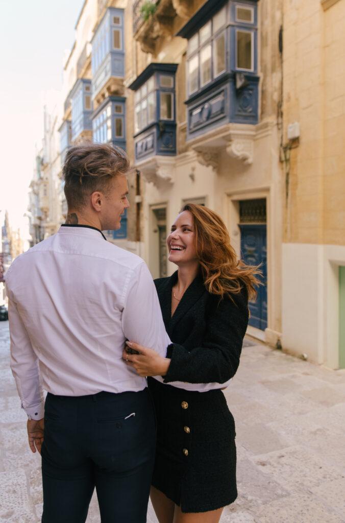 couple session Valletta